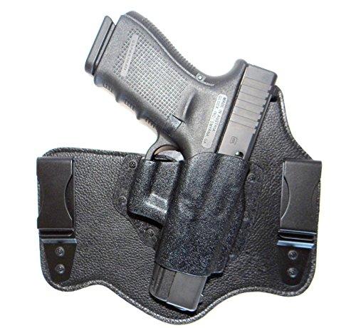 DTOM Ultimate Tuck IWB Inside the Waistband Hybrid Holster - RH Black fits Glock 17 19 26 22 23 27