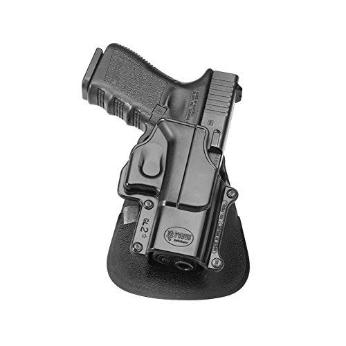 Fobus GL2E2LH Left Handed Variation - Paddle Gun Holster for Glock 17 19 22 23 31 32 34 35
