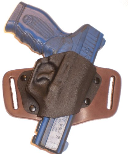 SW 642 OWB Right Hand Brown Gun Holster Quick Slide