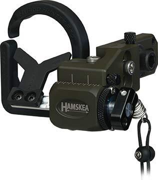 Hamskea Archery Solutions 200774 Hybrid Hunter Pro Arrow Rest OD Green RH