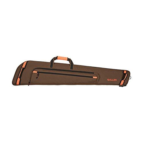 Allen Creede Extra Wide Scoped Rifle Case 48-Inch BrownOrange