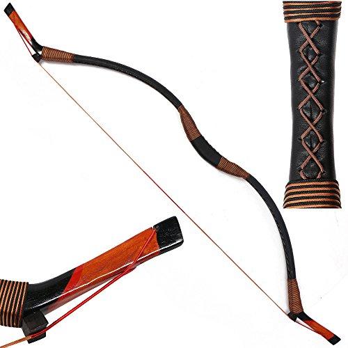 I-sport Traditional Recurve Bow Hunting Handmade Longbow Archery Mongolian Horsebow 30-50lbs