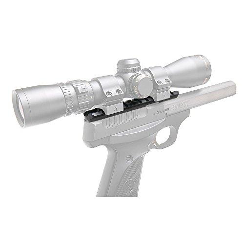B-Square Browning Buckmark 22 Universal Pistol Scope Mount Matte Black Finish