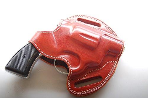 Colt Detective Special 38 Belt Leather Holster TAN