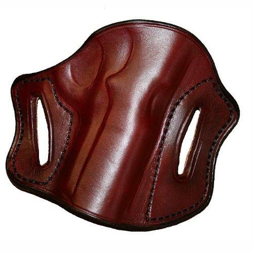 Left Hand - Tucker Byrd Leather Pancake Belt Holster - Bond Arms Snake Slayer - Black