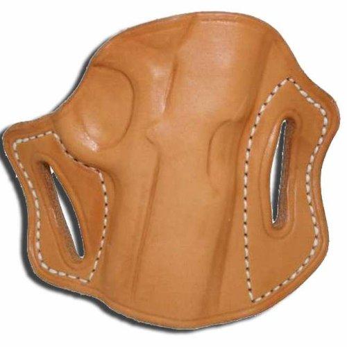 Left Hand - Tucker Byrd Leather Pancake Belt Holster - Bond Arms Snake Slayer IV - Natural