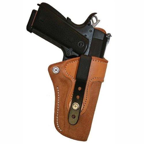 Right Hand - Tucker Byrd L4 Leather Tuckable IWB Holster - Bond Arms Snake Slayer IV