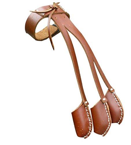 Longbowmaker 3 Finger Archery Glove For Longbow Archery Finger Guard G2