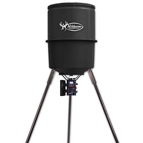 Wildgame Innovations W225D Tri-Pod Digital Feeder 225-Lb Poly Barrel 30-Gals