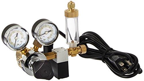 Milwaukee Instruments MA957 Dual-Valve CO2 Adjustable Flow Pressure Regulator Dual Reading psi and kgcm
