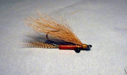 Merrimack River Flies Brewers Amber Shrimp Fly Tailing Light Size 4