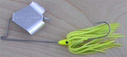 Lunker 4212-0662 12-Ounce Buzzbait Fishing Lure Yellow Finish