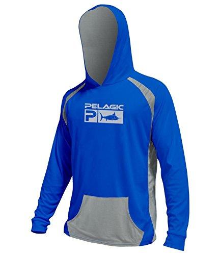 2017 Pelagic Vaportek Hoody Blue M
