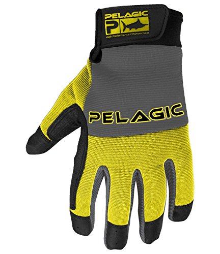 Pelagic End Game Fishing Gloves  Heavy-Duty Kevlar Lined  Sure Grip Design