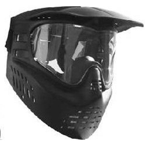 GXG Paintball Stealth Anti Fog Goggle Mask - Black