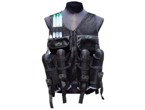 Gen-X Global GXG Paintball Lightweight Vest Black