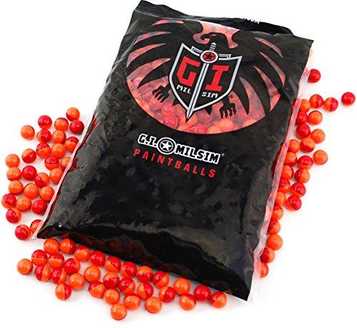 JT GI Splatmaster 50 Cal Biodegradable Low Impact Non-Toxic Paintball Ammo -