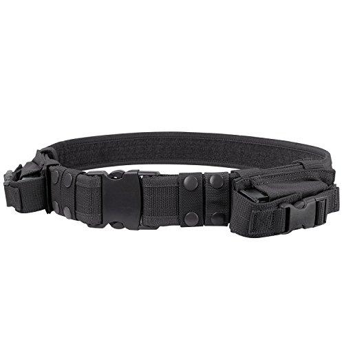 Condor Tactical Belt Black Up to 44-Inch Waist
