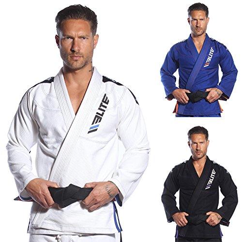 Elite Sports BJJ GI for Men IBJJF Kimono BJJ Jiujitsu GIS WPreshrunk Fabric Free Belt