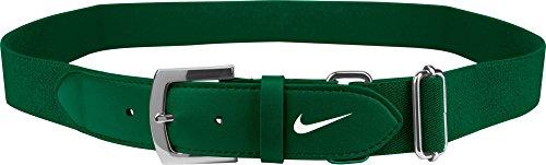 Nike Adult Baseball Belt 20 GreenWhite OneSizeFitsMost
