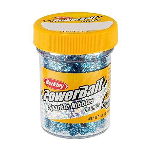 Berkley 1423721 Power Bait Sparkle Crappie Nibbles Blue Ice