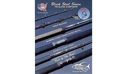Seeker Black Steel G 6470-7 John Grabowski Model Jig and Bait Rod