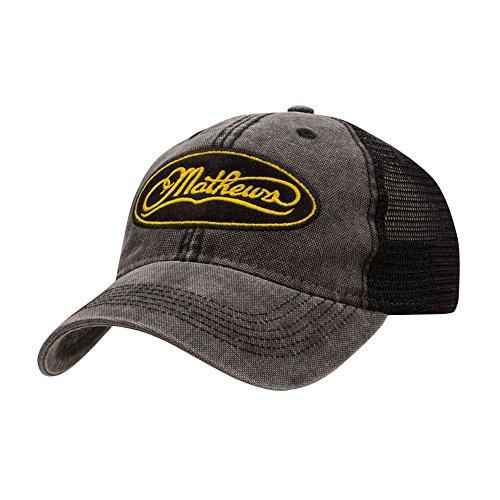 Mathews Archery Hat Wrangler Mesh Back Cap