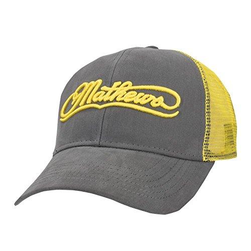 Mathews Archery Yellow Mesh Cap
