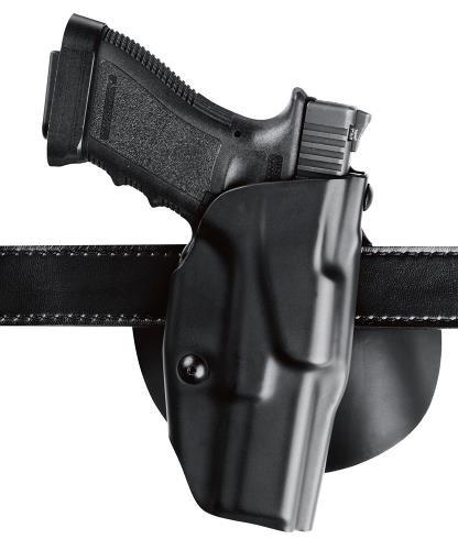 Safariland 6378 ALS Paddle Belt Slide FNH FNS 9mm X300 Holster Plain Black Right