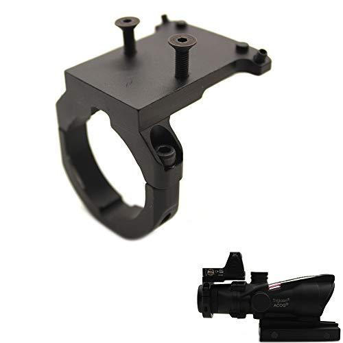 Tactical Metal Ruggedized Mini RMR Red Dot Reflex Sight Mount Base for ACOG Scope