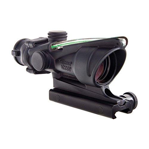 Trijicon ACOG 4 X 32 Scope Dual Illuminated Horseshoe Dot 223 Ballistic Reticle Green