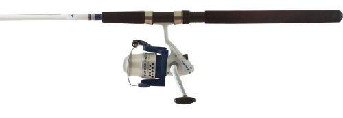 Okuma Fishing TU-1002-80 Tundra Combo Spinning Reel Large WhiteBlue