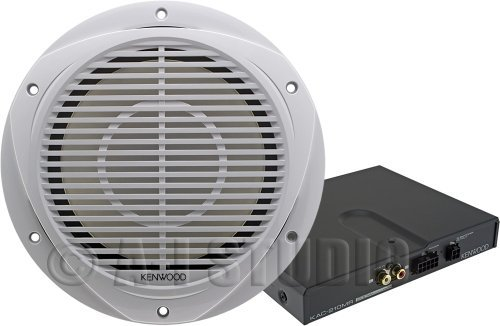 Kenwood 10-Inch Marine Subwoofer and Amplifier Package