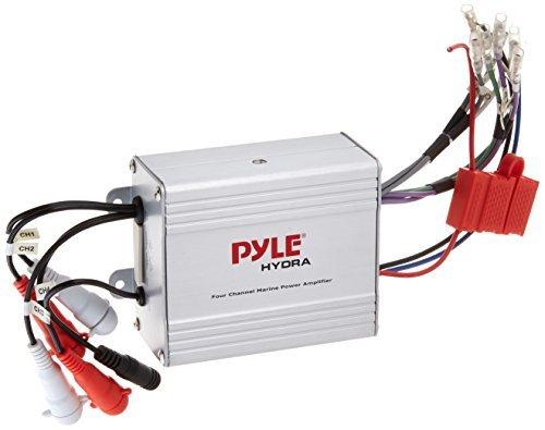 Pyle 4 Channel Waterproof MP3iPod Marine Power Amplifier