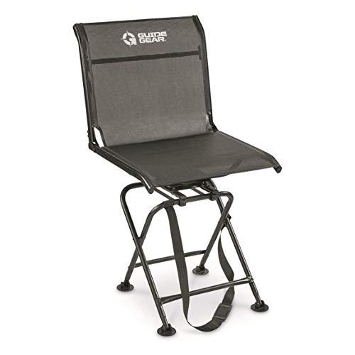 Guide Gear Big Boy Comfort Swivel Hunting Blind Chair 500-lb Capacity