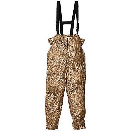 Huntworth Mens Hunting Micro Fiber Lined Waterproof Camouflage Bib Overalls Snow Camo XL