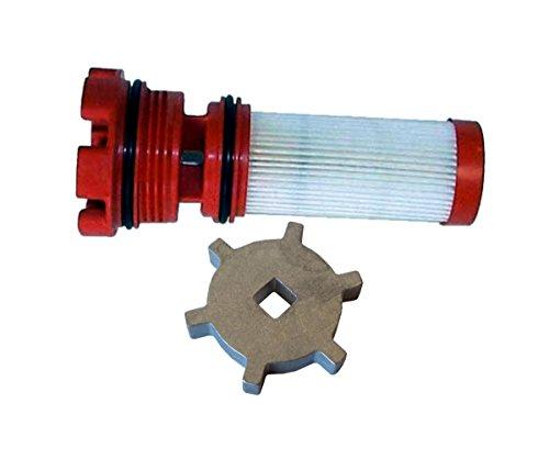 OEM Mercury Marine Outboard Verado Optimax Red Fuel Filter 35-8M0060041 Tool