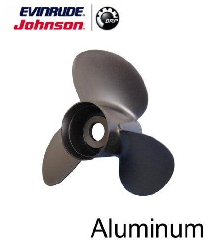 Johnson Evinrude E-Tec 3 Blade Aluminum V-4 Prop Propeller 13 14 x 17 765183