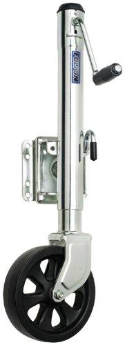 Fulton XP15L 0101 Swivel Trailer Tongue Jack with 8 Wheel - 1500 Lbs Capacity