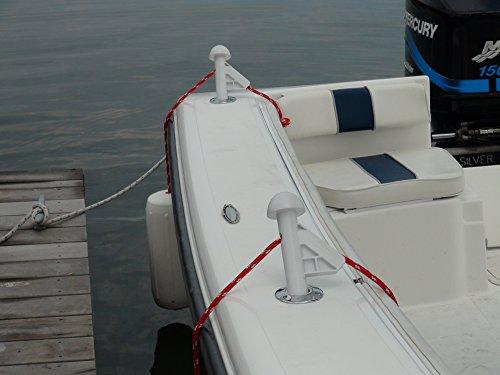 DLFender Power Boat Fender Adjuster White Pack of 2