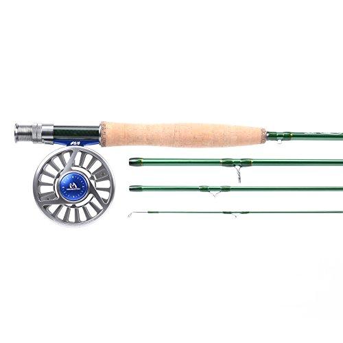Maxcatch Premier Fly Fishing Rod with Avid fly reel includes rod case 345678wt Model01 84 3wt rod34wt reel