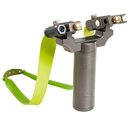IRQ High Velocity Hunting Slingshot Outdoor Professional Sling Shots Set with Rubber Bands Catapult Slingshot for Adult Kids