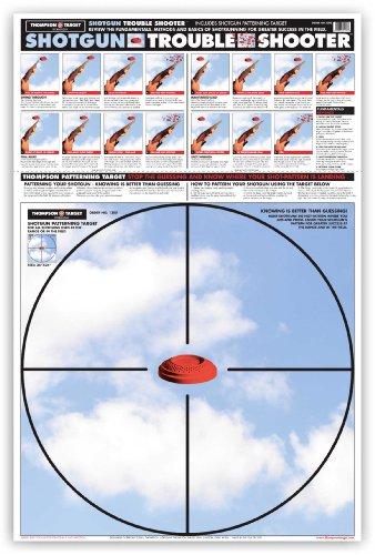 Shotgun Patterning Trouble Shooter - Paper Gun Range Shooting Targets 25 x 38 Inches 25 pack