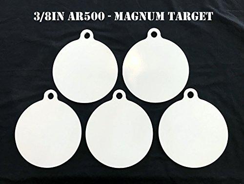 Steel Shooting Targets 8 Inch Dia AR500 Steel Gong Targets Metal Targets-5pc