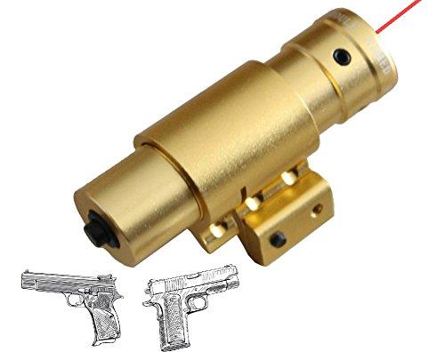 Outdoor Red Laser Sight Slingshots Laser Fashlight Red Locator for Sling Shot for Target Practice Gold Color