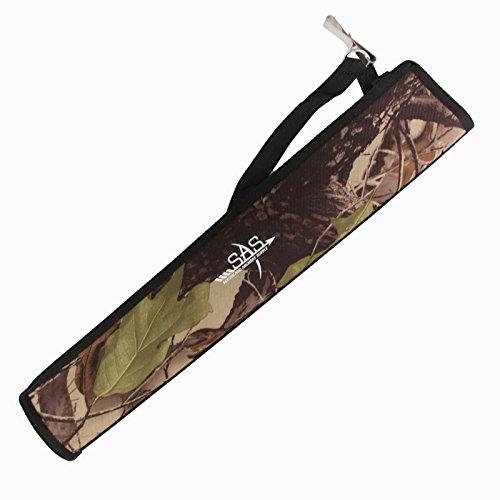 SAS Archery Side Tube Quiver with Belt Clip Camo