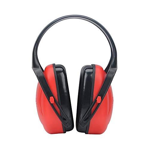 Zhouminli Anti-Noise Earmuffs Foldable Headband Earmuffs Learn Industrial Sleep Noise Earmuffs Noise-Proof Earmuffs Hearing Protection Safety Earmuffs