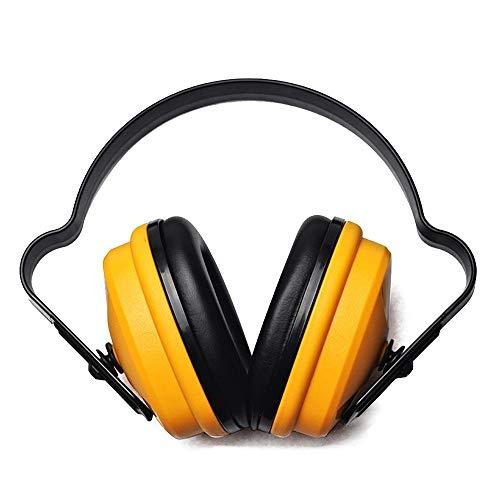 Zhouminli Anti-Noise Earmuffs Hearing Protection Earmuffs Adjustable Soundproof Earmuffs Professional Ear Protectors Shooting Gardening Welding Ear Defender Adult