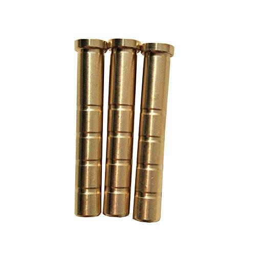Sharrow Archery Arrow Inserts 62mm Copper Arrow Inserts Arrowheads Insert Broadheads Connector 100 Grains