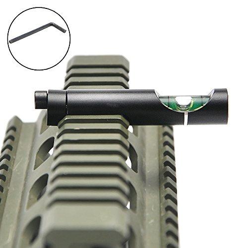 Bestsight Metal Spirit Bubble Level for 20mm Picatinny Weaver Rail Rifle Scope Mount